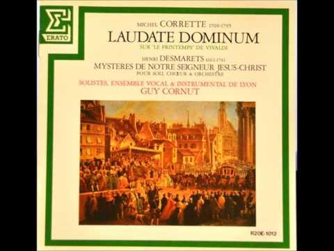M.Corrette  Psaume 148 Laudate Dominum