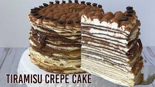 Chocolate Tiramisu Crepe Cake …