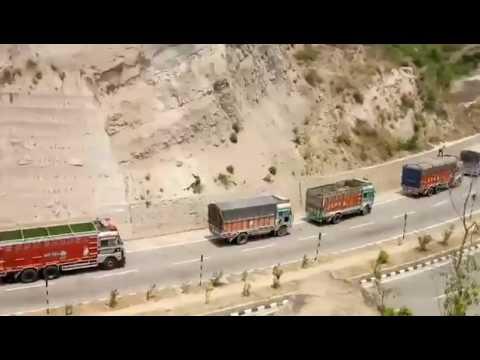 Unrest in Kashmir 2.0, Jammu Srinagar National Highway Blocked   UNT