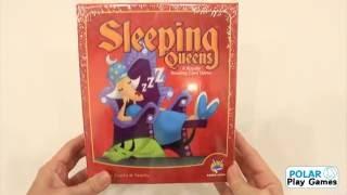 Boardgames Sleeping Queens by Polar Play Games