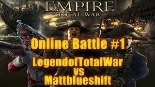 SAVAGES vs EUROPEANS - Empire Total War Online Battle #1 w/ Mattblueshift