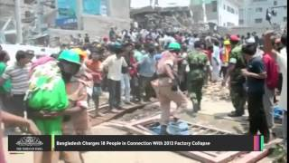 Video Bangladesh Charges 18 People In Connection With 2013 Factory Collapse - TOI download MP3, 3GP, MP4, WEBM, AVI, FLV Agustus 2018