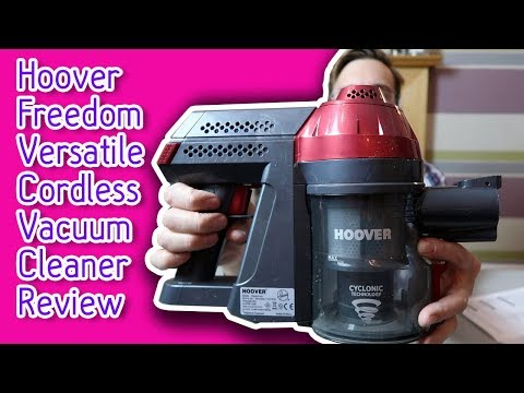 Hoover Freedom Versatile Cordless Vacuum Cleaner Review - Here Come The Hoopers