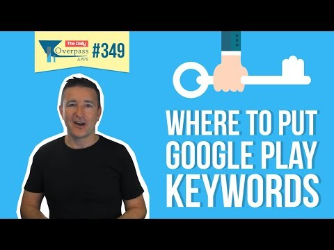 Where to Put Google Play Keywords