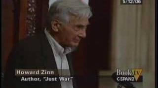 """Howard Zinn """"Just War"""" (part 1)"""