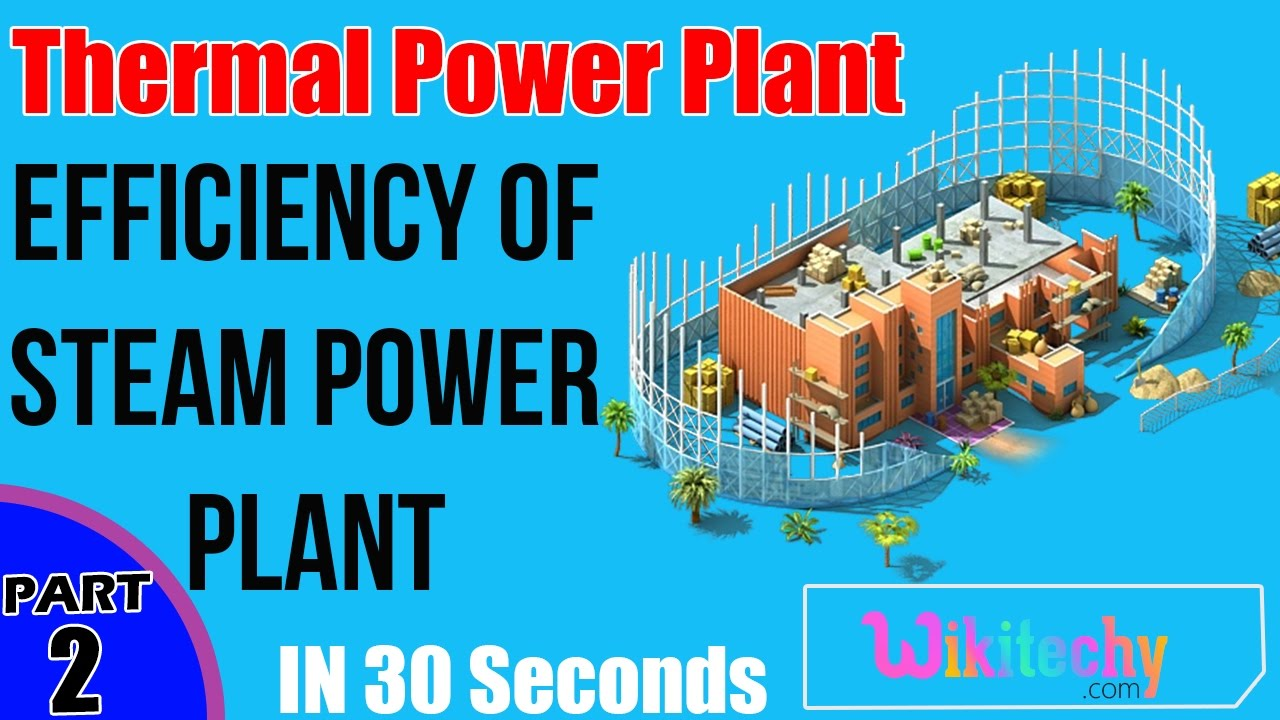 What is the Thermal Efficiency of Steam Power Plant | Thermal Power ...