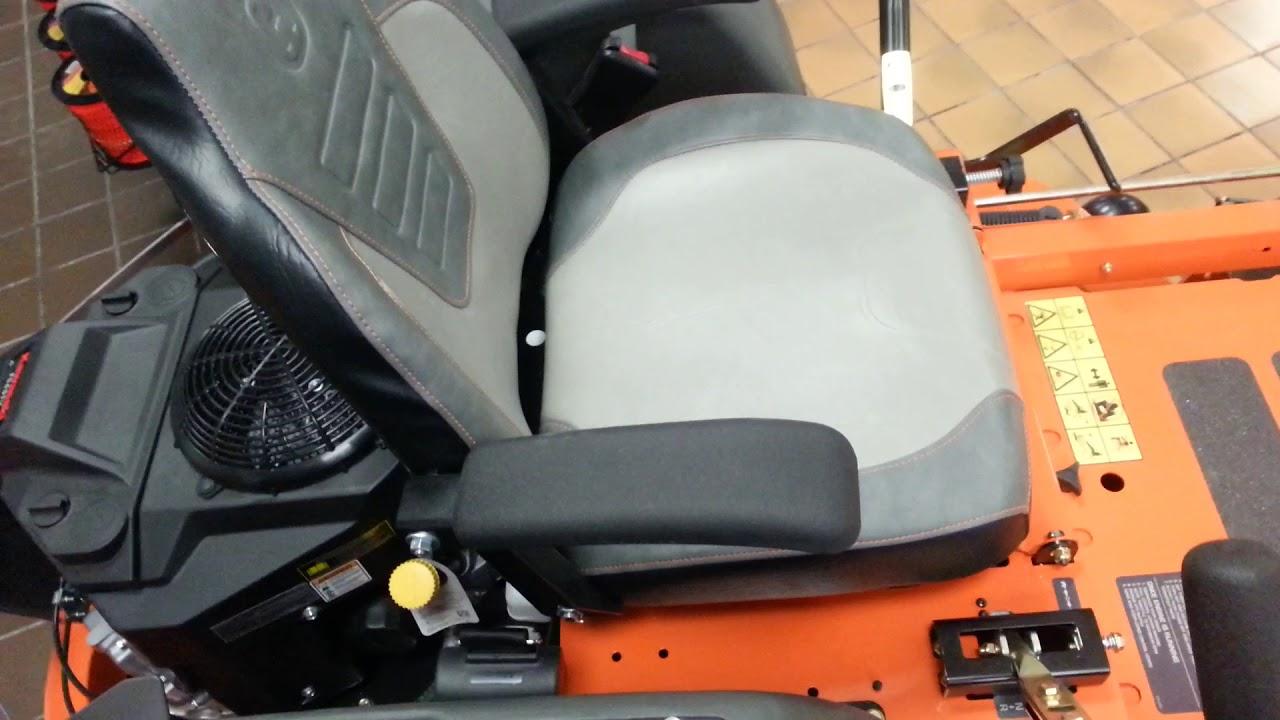 52 Inch Commercial Zero Turn Mower - Husqvarna MZT52