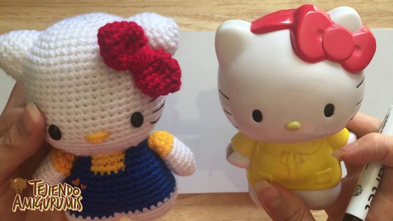 Hello Kitty em Crochê Amigurumi no Elo7 | Ateliê Melbi (A72259) | 720x1280