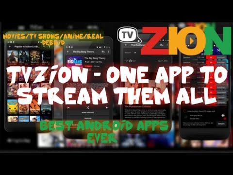 Best Android Apps Ever : TVzion The Best Streaming App For Android Device  Movies and TV Shows 🎥💙