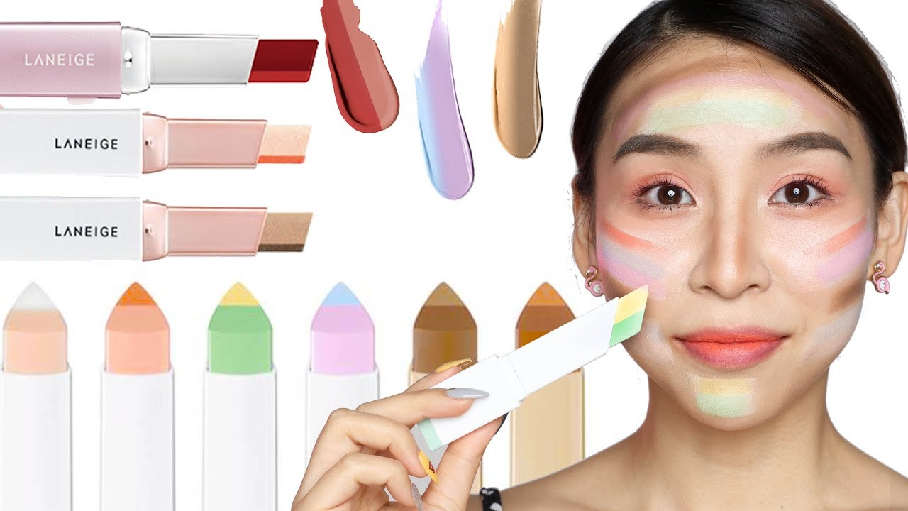Full Face of Laneige Two Tone Makeup – TINA YONG