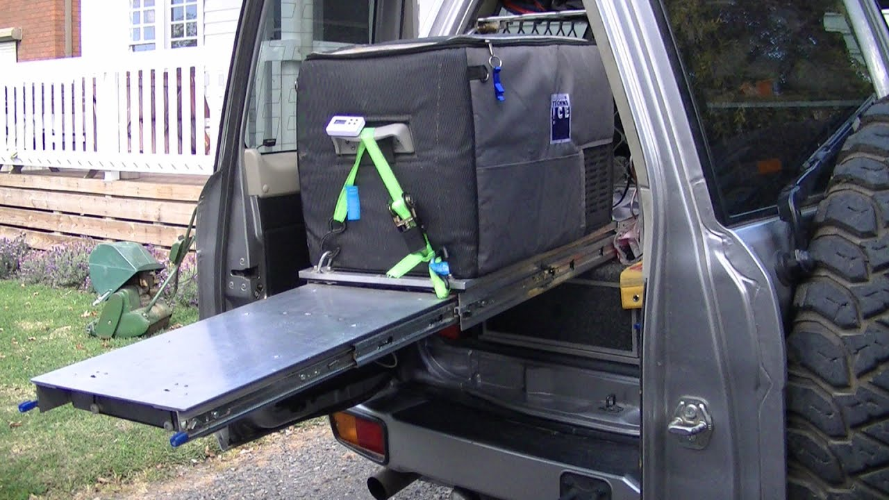 Spankerfest Make A 4wd Fridge Slide Storage Youtube