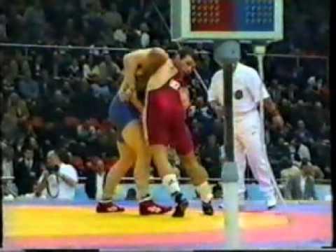 76 кг. Финал. Д. Манукян - В. Макаренко (Москва 2000)