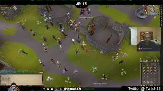 JR 15 Live Streaming Old School Runescape