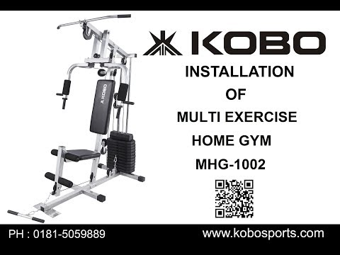 Kobo MHG-1002 Multi Exercise Home Gym Assembly Video / Fitting Video