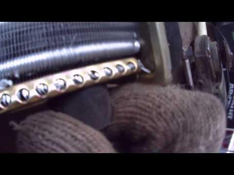 замена радиатора печки BMW e38