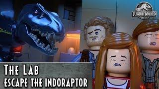 LEGO Jurassic World – Escape the Indoraptor – The Lab