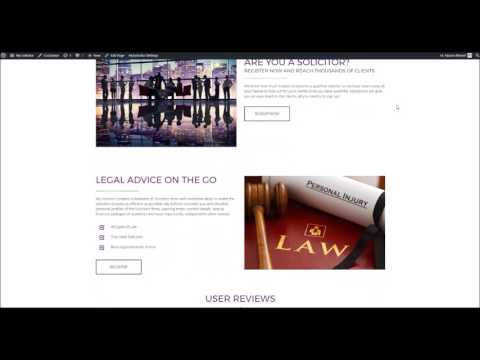 Lawyer Directory Website designed by XCEL Web Design