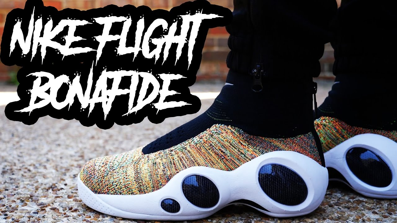 A YOUTUBE FIRST !?!? NIKE FLIGHT BONAFIDE