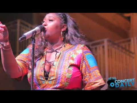 "Jazmine Sullivan performs ""Lions, Tigers and Bears"" live in Washington DC"