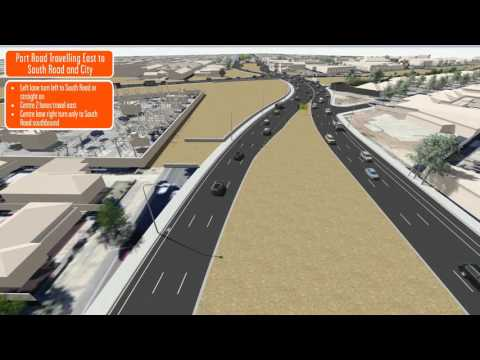 T2T Traffic switch   Port Road travelling east to South Road and City April 2016