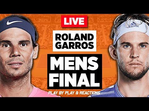 🔴 NADAL Vs THIEM | Roland Garros 2019 F | LIVE Tennis Stream