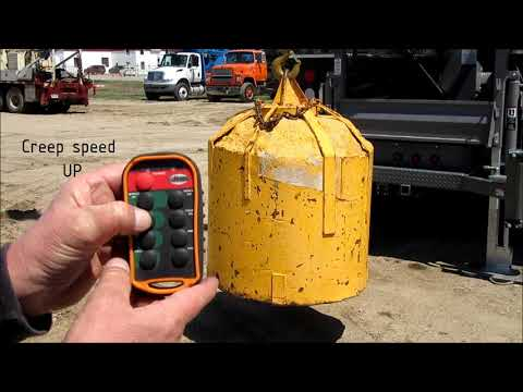 Hunke pump hoist remote control - Kar-Tech