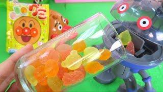 アンパンマングミ だだんだん アンパンマン号 たくさん食べるよ Anpanman Gummy Candy