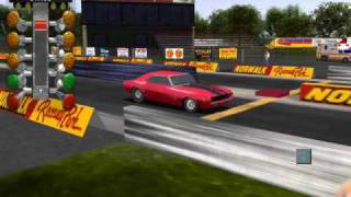 IHRA DRAG RACING GAME (1969 CAMARO Z-28)
