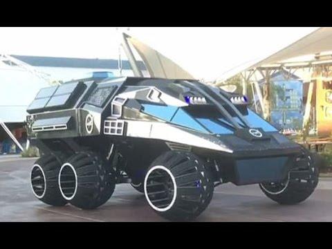 Nasa creates a bizarre Mars rover concept that looks like the Batmobile