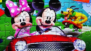 Disney CLUBHOUSE Kids Puzzle Games Rompecabezas Mickey Minnie Mouse Jigsaw Puzzles