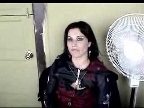 Cristina Scabbia-Megadeth Video Shoot