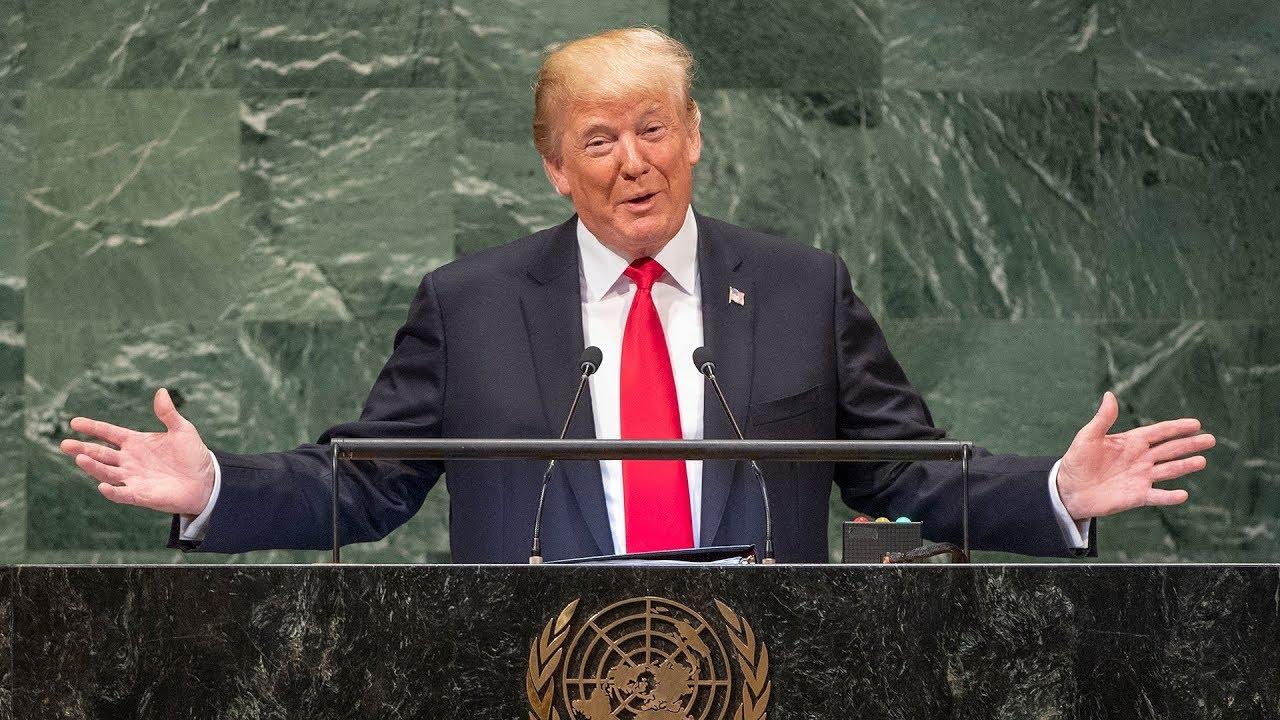 Download 🇺🇸 Donald Trump - United States - President Addresses General Debate, 73rd Session