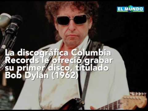 Bob Dylan gana Premio Nobel de Literatura por sus canciones poéticas