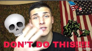 5 Things to NEVER do in Bootcamp!!!!