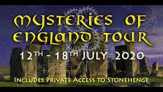 Mysteries of England Tour - 30th June - 6th July 2019 | Megalithomania