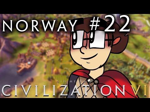 Civilization VI [Six!!] - Norway: Religious Vikings! - Part 22