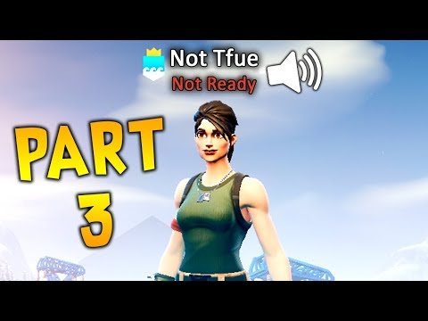I Used A Voice Changer As Tfue On Fortnite... Part 3