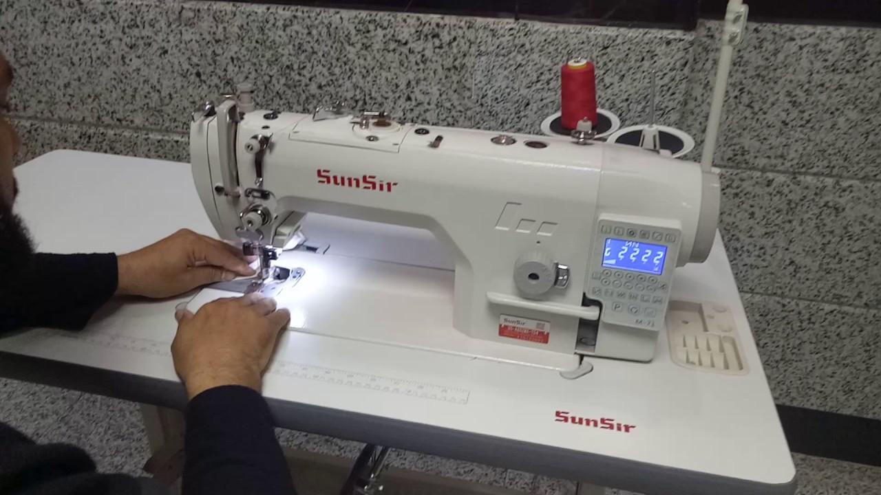 ماكينات خياطة صن سير Sun Sir Youtube