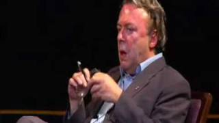 Hitchens: the universe doesn't need a designer.