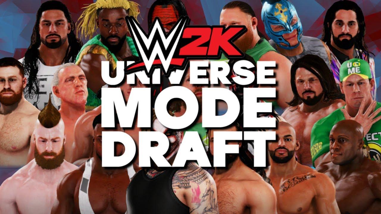 WWE 2K   Universe Mode - THE DRAFT!