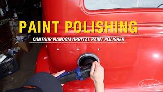Polishing OLD PAINT on a Barn Find Hot Rod! Contour Random Orbital Polisher - Eastwood