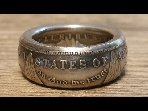 Silver Half Dollar Ring Diy