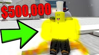 ROBLOX SNOW SHOVELING SIMULATOR *$500,000 MELTING SUIT*