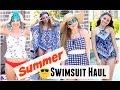 Summer Swimsuit Haul | Brooklyn and Bailey