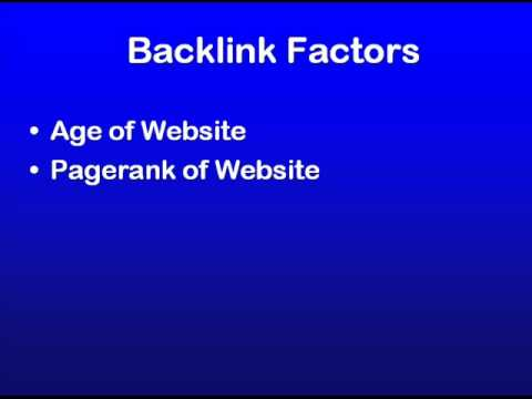 SEO Education 101 - What does a good backlink look like?