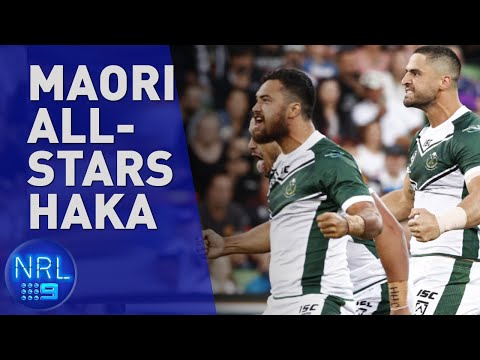 Maori All-Stars' Passionate Haka | NRL On Nine