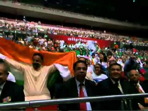 PM Modi at the Indian Community Reception at Allphones Arena in Sydney