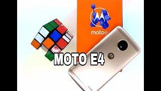 Motorola MOTO E4 Unboxing & Hands-on