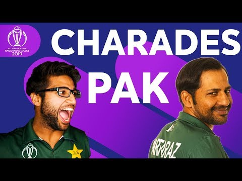 Sarfaraz Ahmed's Impression Of Imam-ul-Haq ? | Pakistan Play Charades! | ICC Cricket World Cup 2019