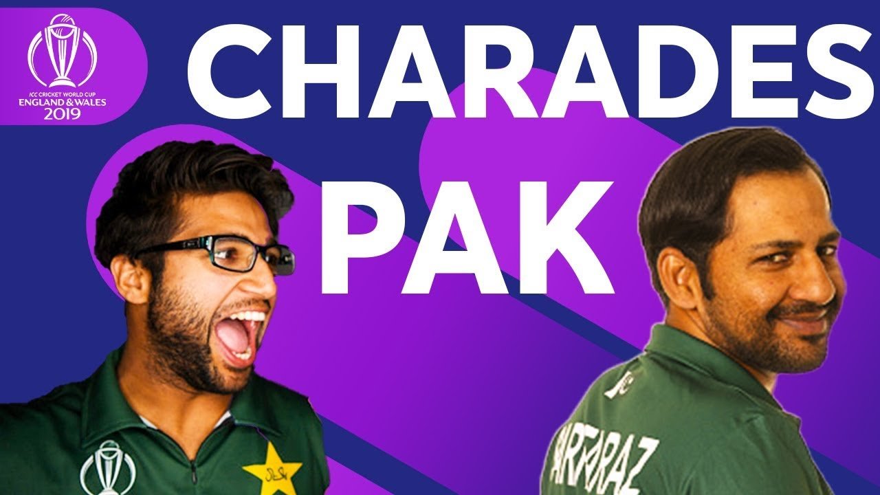 Sarfaraz Ahmed's Impression of Imam-ul-Haq ? | Pakistan Play Charades! | ICC Cricket World Cup